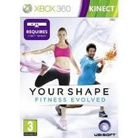 Your Shape , Fitness Evolved , kinect sensor ( Xbox 360 )