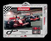 Автотрек Carrera Evolution Formula One Racing Управляемый с двумя машинками, 235x169 см