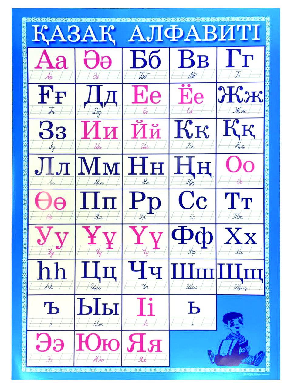 Казахский алфавит
