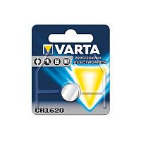Батарейка Varta Electronics CR1620 3V-60mAh (1 шт.)
