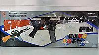 Водный автомат АК-47 Water Combat M4 моторизованный на батарейках 63x25см