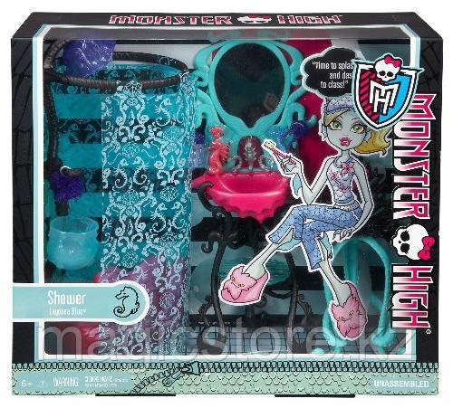 Душевая Monster High Лагуны Блю Lagoona Blue Shower and Vanity Playset - фото 3