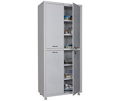 Медицинский шкаф двухстворчатый MD 2 1780/SS (1850х800х400 мм)