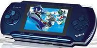 Игровая приставка GAME BOY - PVP POCKET - 2 Gb с играми + картридж с играми + кабель к TV, (синяя)