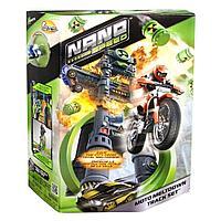 Игровой набор Нано-Трек Spin Master Nano Speed Moto Meltdown Track Set с одним Нано-Мотоциклом