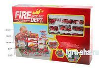 Игровой набор Пожарная станция Fire City Set, 37х54 см