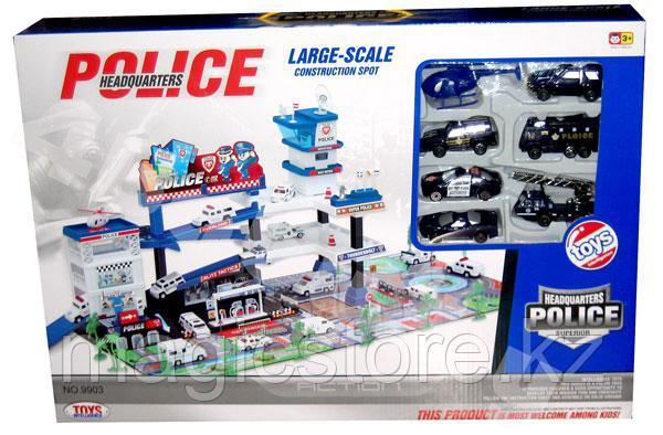 Игровой набор Полицейская станция Police Headquarters, 37х54 см