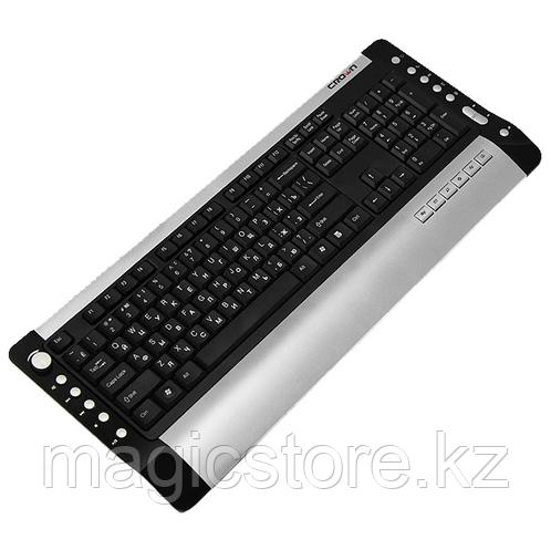 Клавиатура проводная Crown CM-K067 USB, черная