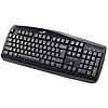 Клавиатура проводная Genius KB-102 PS/2, черно-серая