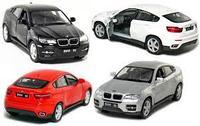 BMW X6 в пластиковой упаковке - инерционная металлическая., фото 1