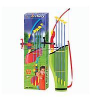Набор King Sport Archery Set: Лук, 4 стрелы с присосками, колчан для стрел, ИК-прицел, цветной, фото 1