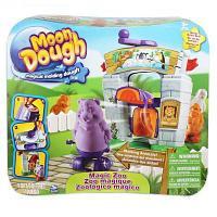 Пластилин Moon Dough Magic Zoo, Spin Master Набор для лепки Зоопарк
