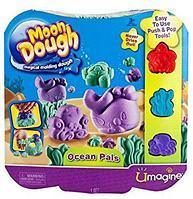 Пластилин Moon Dough Ocean Pals, Spin Master Набор для лепки Морской мир