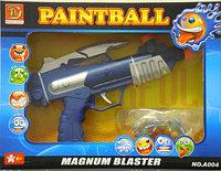 Пейнтбол пистолет и очки PaintBall Magnum Blaster