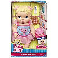Пупс Hasbro Baby Alive Yummy Treat Baby Угощения для малышки, фото 1