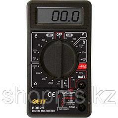 Мультиметр 0,1мВ-600В; 0,1В-600В; 1мкА-10А; 0,1Ом-2МОм; короб.
