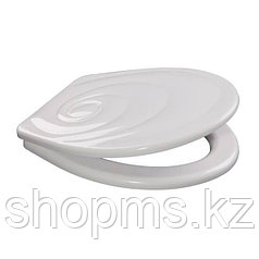 Сиденье для унитаза универсальное ОРИО (КУ2-1) белое ЛЮКС