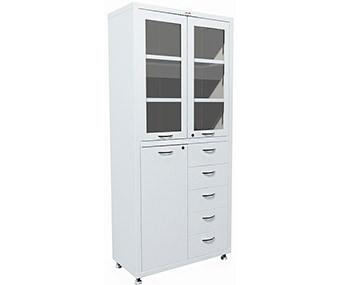 Медицинский шкаф двухстворчатый MD 2 1780R-5 (1850х800х400 мм)