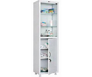 Медицинские шкафы одностворчатые