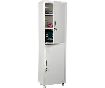 Медицинский шкаф одностворчатый MD 1 1650/SS (1755х500х320 мм)