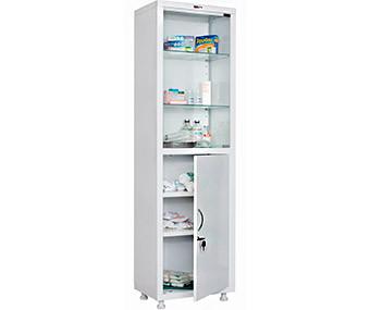 Медицинский шкаф одностворчатый MD 1 1657/SG (1755х570х320 мм)