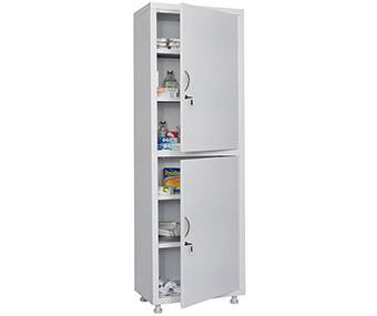 Медицинский шкаф одностворчатый MD 1 1760/SS (1850х600х400 мм)