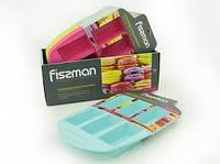 6701 FISSMAN Форма для выпечки 6 батончиков 30x20x3,4 см (силикон)