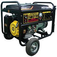 Электрогенератор Huter 8000LX-3 DY с колесами, фото 1