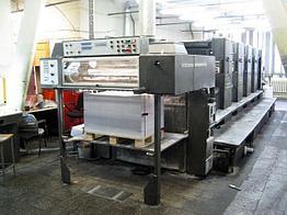 Heidelberg SM-102 б/у 1990г. - 5-красочная печатная техника