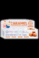 PresiDENT Baby 0-3 зубная паста-гель со вкусом карамели