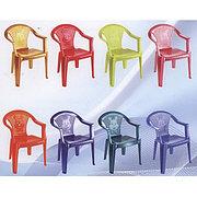 """Стульчик - детское кресло """"Малыш"""" пластиковый, Росспласт РП-211"""
