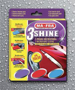 Набор салфеток для автомобиля 3Shine