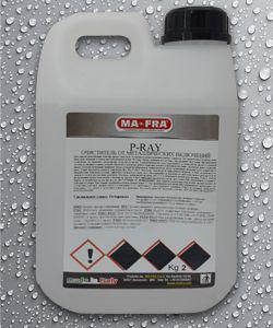 Реактивный очиститель колесных дисков и кузова авто (с цветовой индикацией) P-RAY
