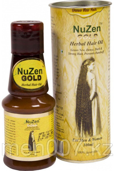 Nuzen Gold (Масло для роста волос)