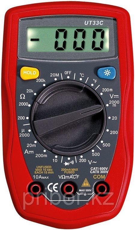 Мультиметр цифровой UT33C . Внесён в реестр РК