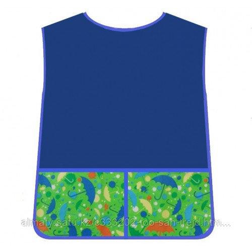 Комплект для творчества:фартук-накидка и нарукавники из водонепроницаемой ткани для мальчиков Витоша