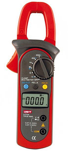 Токоизмерительные клещи  True RMS до 400 А (AC/DC) с функцией мультиметра UT204. Внесены в реестр СИ РК