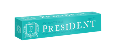 PresiDENT PROFI Antibacterial зубная паста 75 мл