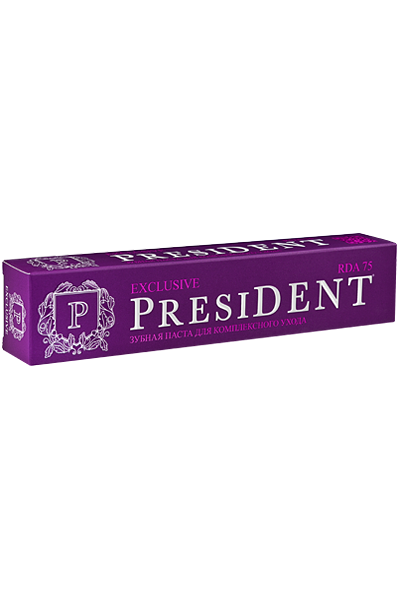 PresiDENT Exclusive зубная паста 75 мл