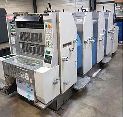 Ryobi 524HE б/у 2002 г. - Четырехкрасочная печатная машина
