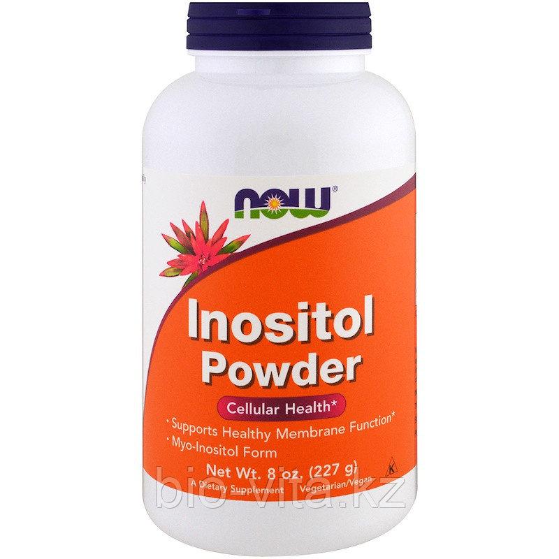 Inositol Инозитол (В8) ,  227 гр. Now Foods ( порошок)1/4 ч/л 730 мг.