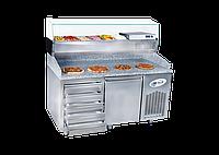 Холодильник для пиццы 40x60 Емкость лотка / 5 ящиков FRENOX