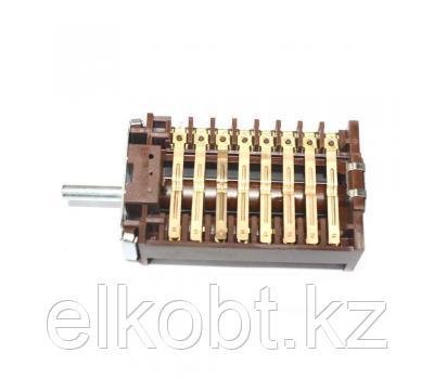 Переключатель электроплиты универсальный 8-позиций 8 гр. контактов