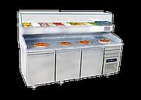 Холодильник для пиццы 40x60 Емкость лотка / 3 ящика FRENOX