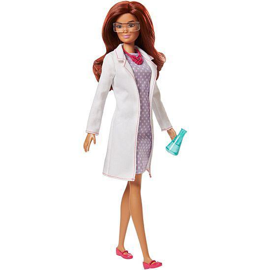 """Barbie """"Кем быть?"""" Кукла Барби - Учёная"""