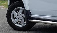 """Брызговики """"ДАСТЕР-ГАРД"""" передние увеличенные Renault Duster с 2011 г.в."""
