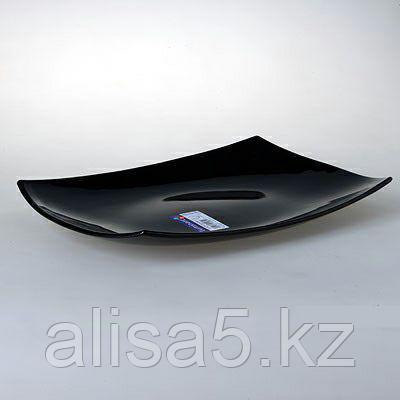 QUADRATO блюдо прямоугольное 35 см черное
