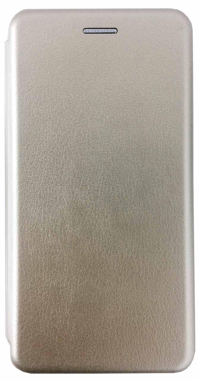 Кожаный чехол Open series на Samsung Galaxy S9 SM-G960F (золотистый)