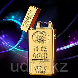 USB зажигалка Золотой Слиток