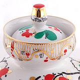 Чайник заварочный Петушки. Императорский фарфор, Санкт-Петербург, фото 5